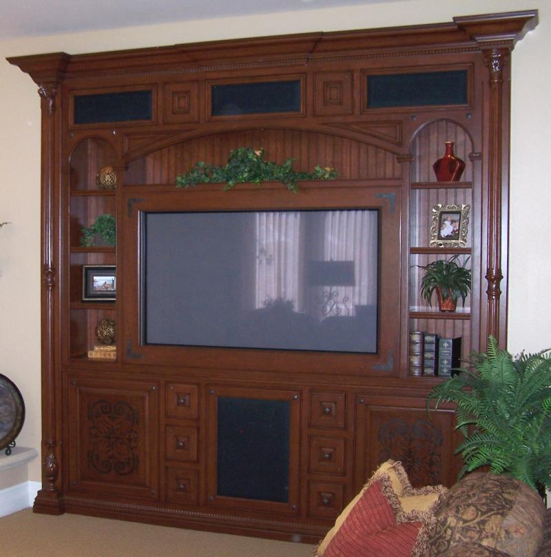 Interior & Exterior Design, Inc., Galentine's Entertainment Center - #1
